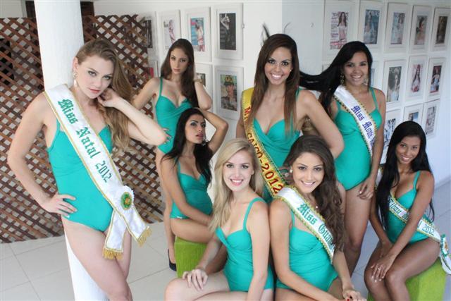 28/06/12 - Cocurso miss rn - Candidatas 2012.
