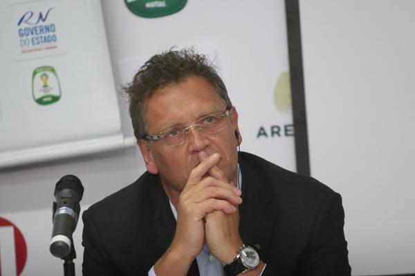 Jérôme Valcke dá destaque as transformações nas cidades-sedes