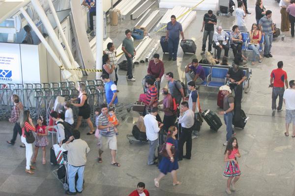 Aeroporto Augusto Severo: recuo nos desembarques internacionais é um dos termômetros da desaceleração