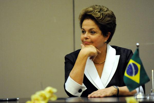 Dilma Rousseff: crescimento com preservação ambiental é possível