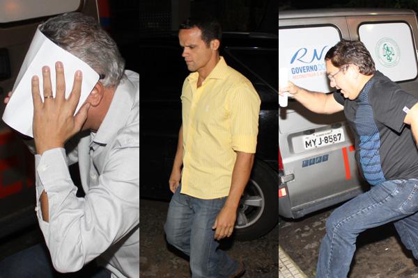 Estão livres: o ex-secretário Antônio Luna, o ex-secretário Thiago Trindade e Assis Rocha, ex-coordenador da SMS.