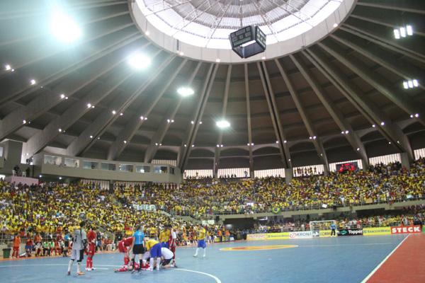 Presidente da Federação de Futsal, Clóvis Gomes, aposta na presença de um grande público no ginásio