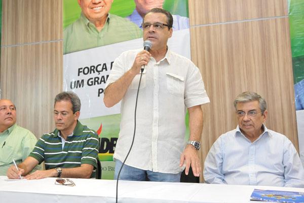 Henrique Eduardo destaca lançamento da candidatura própria
