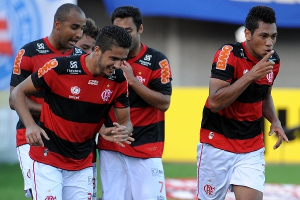 Mesmo sem Vágner Love, Flamengo conseguiu vitória sobre o Bahia em Pituaçu