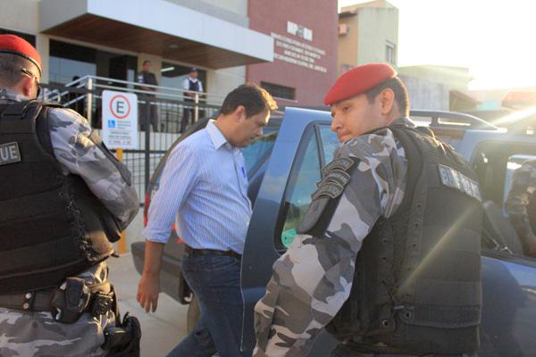 Alexandre Magno está detido na sede do Comando da Polícia Militar