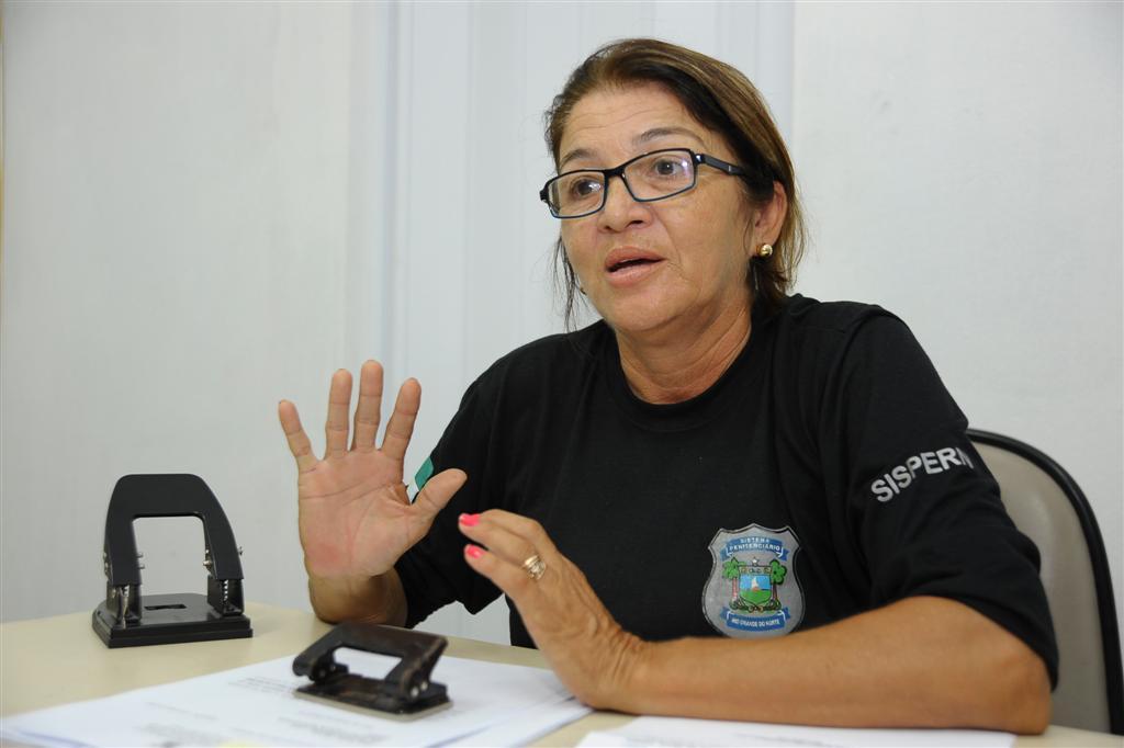 Dinorá Simas assume a direção da penitenciária de Alcaçuz
