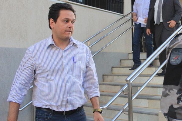 O procurador do município, Alexandre Magno, está preso