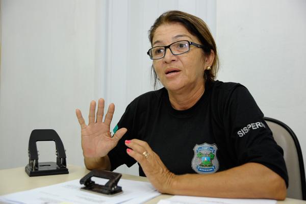 Antes da transferência, a agente Dinorá Deodato era responsável pela ala feminina da João Chaves