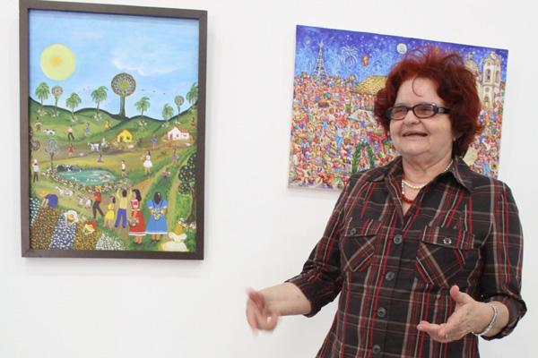 Isaura Rosado comenta as atividades da secretaria de Cultura