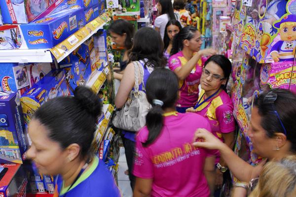 Loja em Natal: em meio à desaceleração, o comércio teve saldo positivo