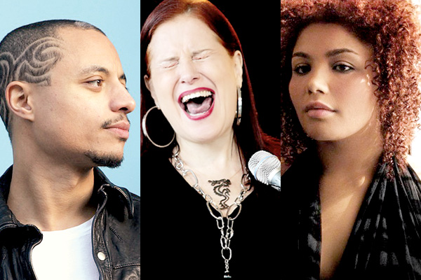 José James, entre o hip hop e o jazz. A bossa e o jazz na voz de Ithamara Koorax. Novaiorquina Alma Thomas.