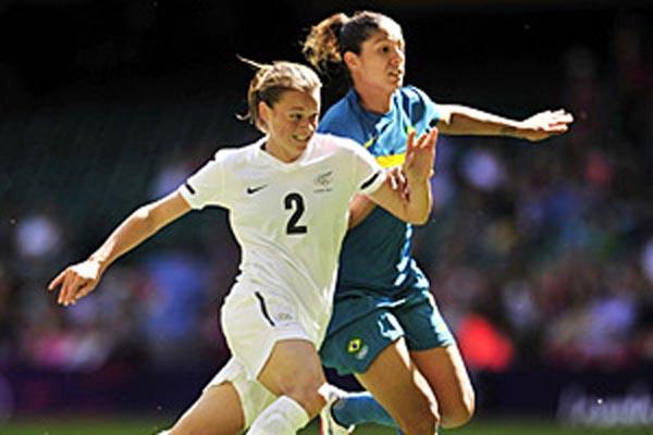 Cristiane marca no fim contra Nova Zelândia e classifica Brasil