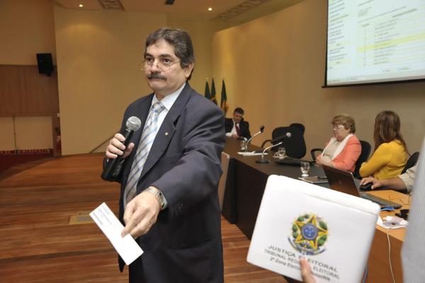 José Dantas apresenta resultado do sorteio que define ordem de apresentação da propaganda