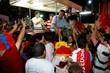 O prefeito eleito de Natal, Carlos Eduardo, está em Mirassol para começar a carreata da vitória