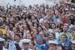 Estimativa da Polícia Militar é que aproximadamente 30 mil pessoas participaram da procissão