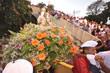 Fiéis receberam a imagem para a celebração eucarística