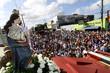 Milhares de fiéis se reuniram para caminhada em homenagem à Nossa Senhora da Apresentação