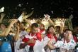 Comemoração do time do Potiguar