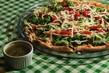 Pizza nobre é a especialidade da Rosso Pomodoro, com molho da casa