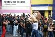 A governadora Rosalba Ciarlini foi criticada durante a passeata das categorias sindicais na Avenida Rio Branco