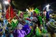 Campeã do Grupo B, a escola de samba Águia Dourada fez o desfile na avenida Duque de Caxias