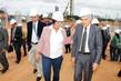 Rosalba e Valmir Campelo visitaram as obras do estádio Arena das Dunas