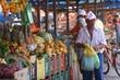 Em Currais Novos, apesar da cultura irrigada que ainda existe na Serra de Santana, vários produtos da feira são importados.